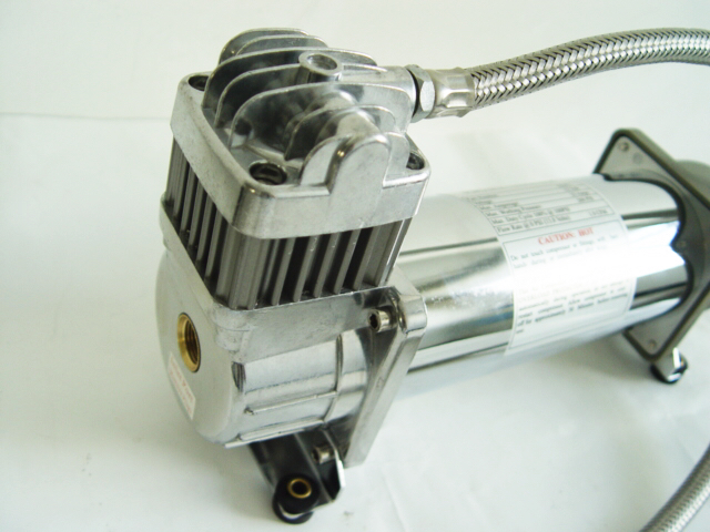 H - Air Suspension Compressor for truck 150psi Stainless Lead Hose