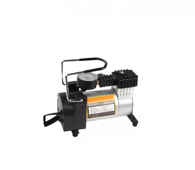 Automotive 12 Volt Metal Air Compressor With Watch / Hand Shank Pump