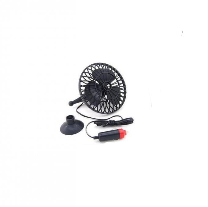 YF209 Black Electric Cooling Fans For Trucks 12v Dc Voltage Oscillating