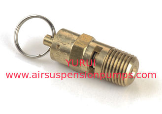 "1/4"" NPT Air Compressor Safety Valve For Air Tank , Air Compressor Accessories"