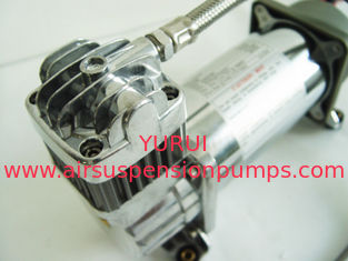 Chrome Airbag Air Ride Suspension Compressor 150psi 2.18CFM , 12v Car Air Compressor