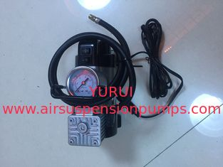 Most Popular Single Small Air Compressor With Light For All Cars Sliver And Red