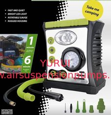 DC12V 100PSI Car Air Pump With Lamp Warning Inflation Function