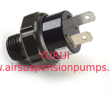 Black Pneumatic Air Pump Fittings / Plastic 12v air compressor pressure switch