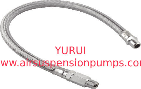 Pneumatic Accessories Braided stainless steel braided hose With Check Valves Of  Suspension Pump