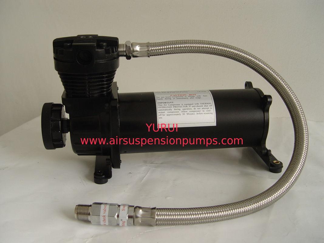 Steel Material Air Lift Suspension Compressor 70L/Min Air