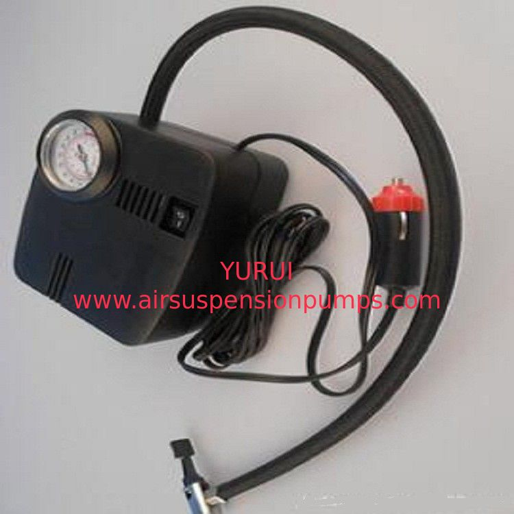 250psi Car Portable Air Compressor Plastic Material Black Color For Auto Tires