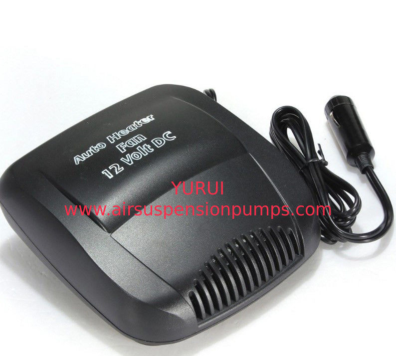 Electric Small Portable Car Heaters 150w Black Color Plastic Material With Switch
