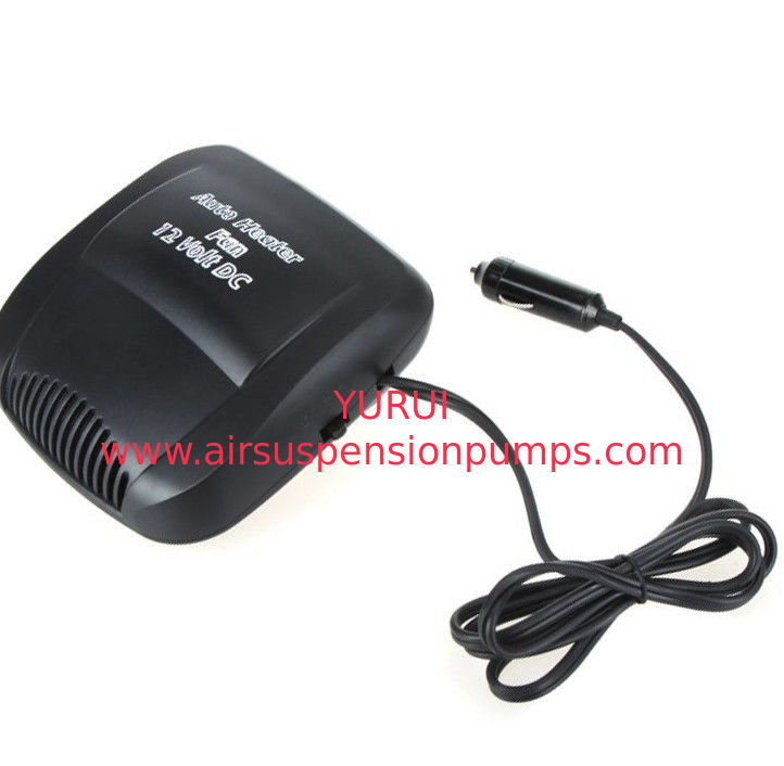 Small Portable Electric Car Heater 150w 12v Fan Heaters One Year Warranty
