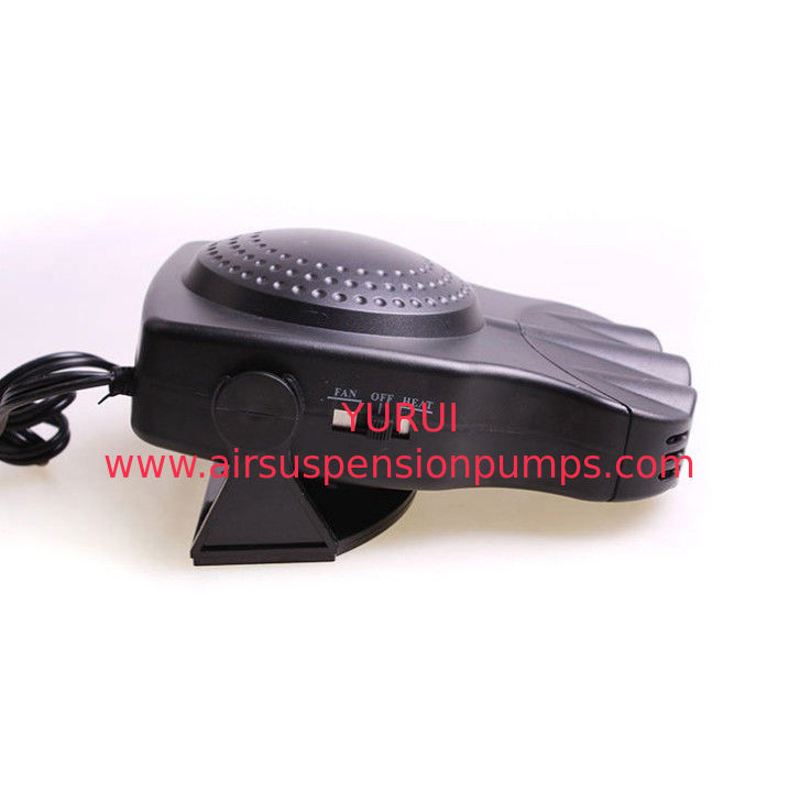Smart Portable Car Heaters 150w Black Color With Fan / Heater Function