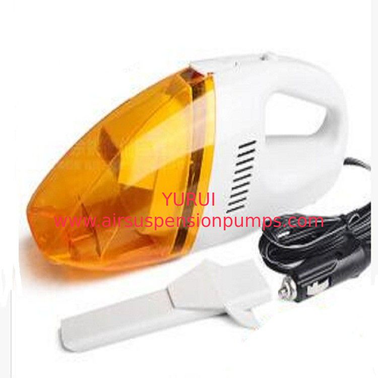 Orange Auto Vacuum Handheld Car Vacuum Cleaner Dc12v With Washable Filter