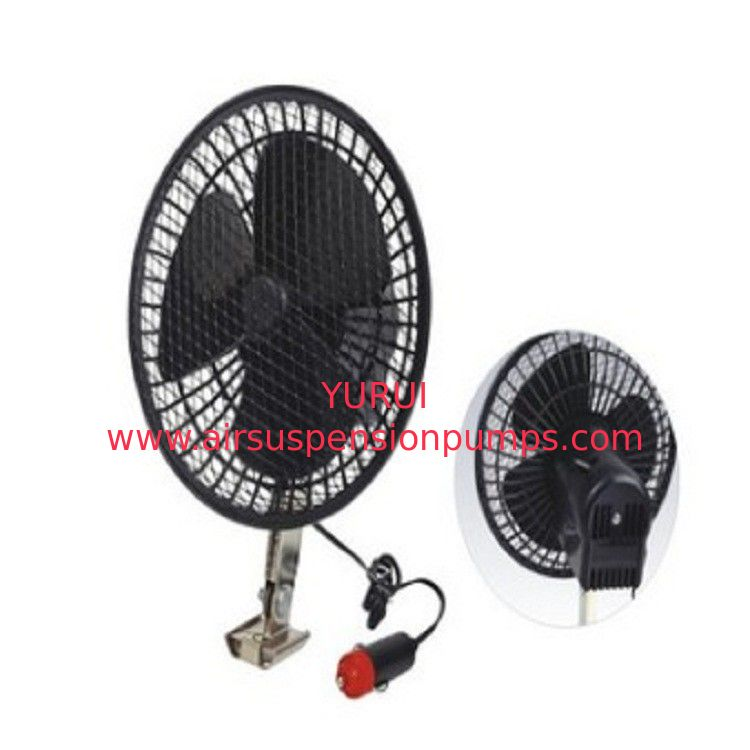 6 Inch Electric Cooling Fans For Cars / Oscillating Metal Car Radiator Fan