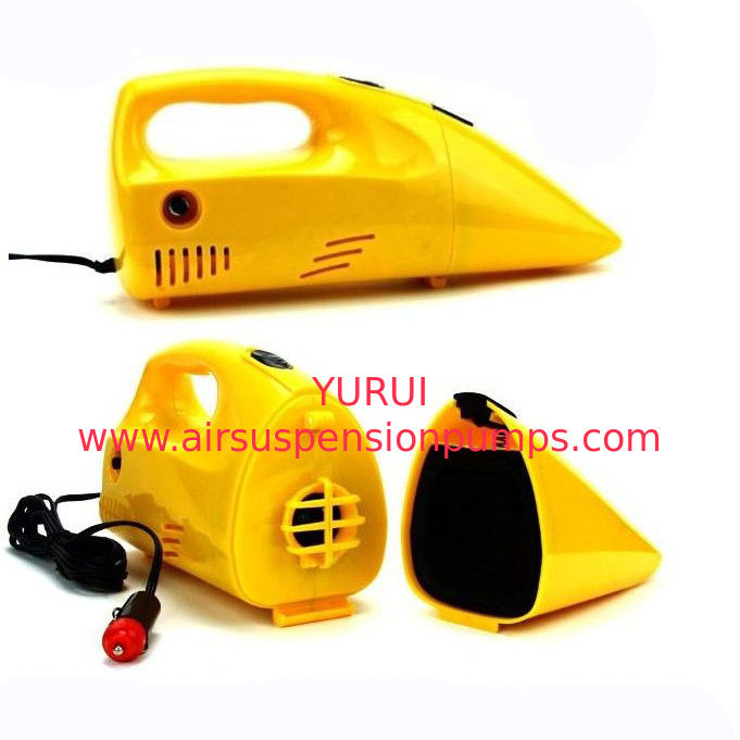 Yellow Portable Car Vacuum Cleaner 12 Voltage 35w-60w For Choice, Made in China