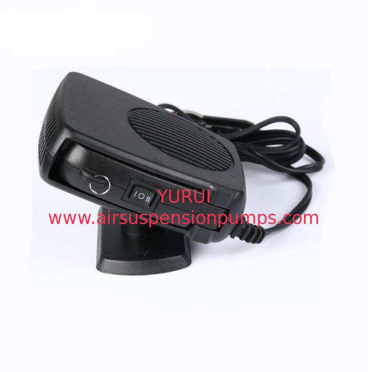 Black Portable Car Heaters 150w With Handle , Cool And Warm Switch