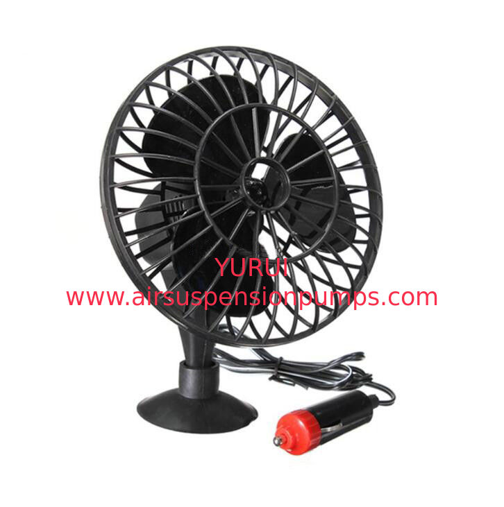Suction Cup Mounting Auto Cool Fan / Car Radiator Electric Cooling Fans