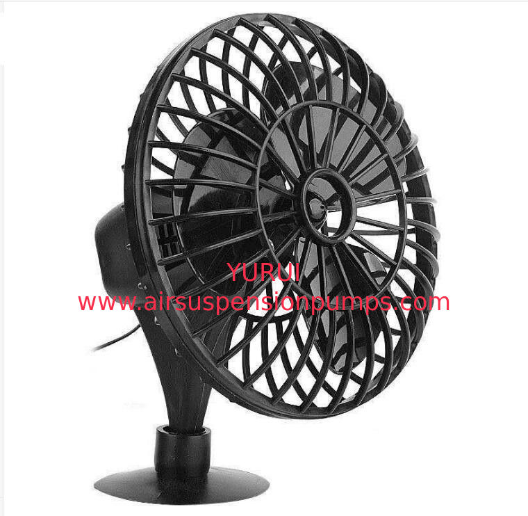"4"" Plastic Automotive Electric Cooling Fans / Black Electric Fans For Cars"