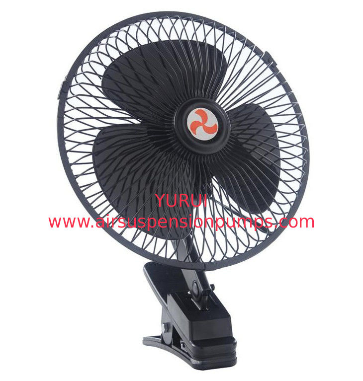 12V / 24V Car Cooling Fan With Half Safety Metal Guard Long Working Life