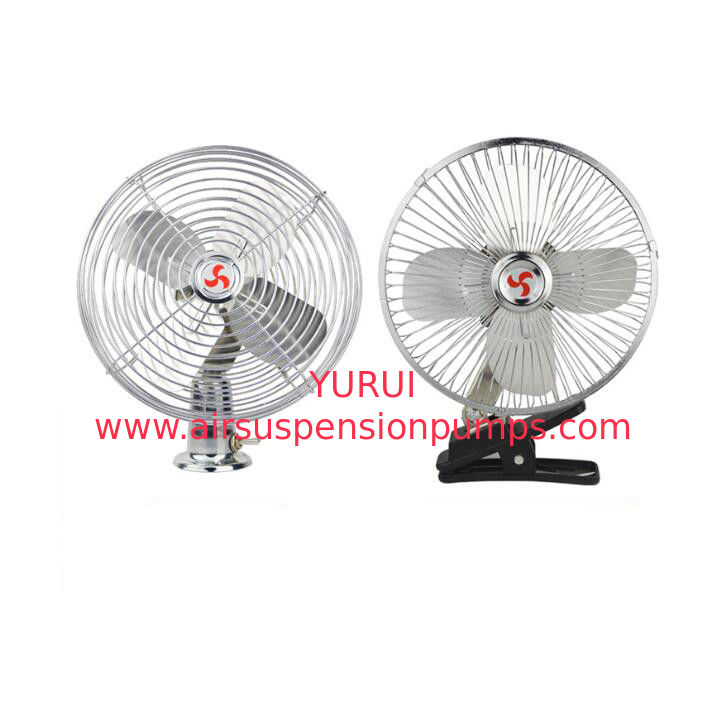 12v/24v Car Cooling Fan With On-off Switch full safety metal guard