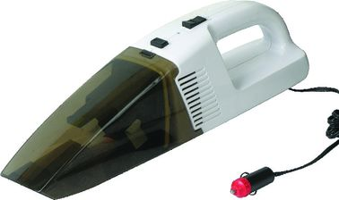 White And Black Portable Handheld Car Vacuum Cleaner For Tiny Dust