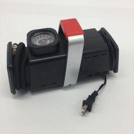 AC DC Two Ways Power Get Car Tire Air Compressor with Gauge , Auto Air Compressor