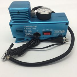 AC110 - 230V and DC12V Plastic Vehicle Air Compressors with Gauge , Car Air Compressor