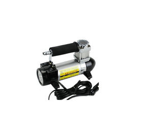 12v Single Cylinder Air Compressor Pump Metal Material With Light 100 Psi
